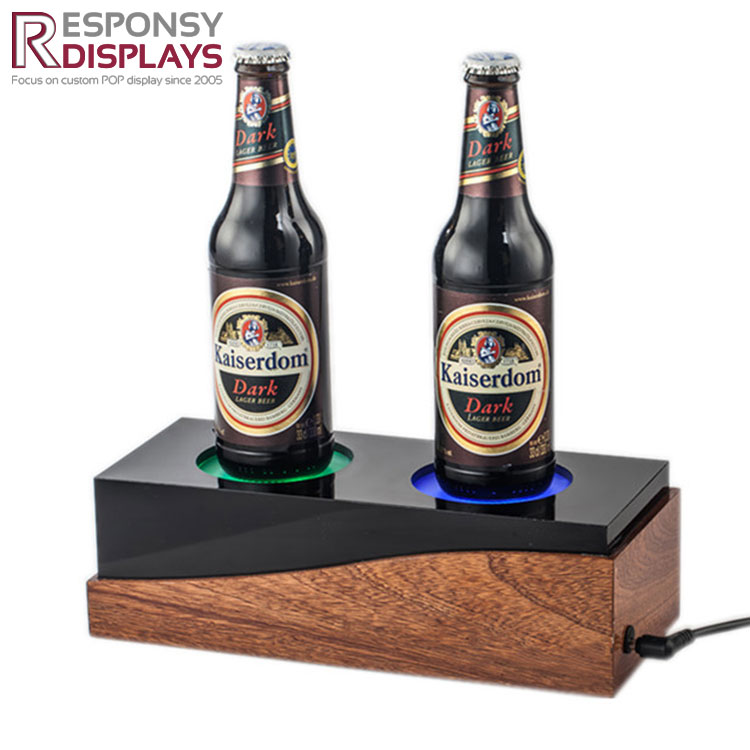 Counter Acrylic Wine Stand With LED Light
