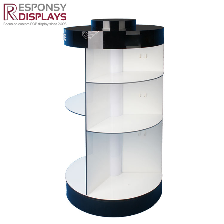 Acrylic Earphone Headphone Display Stand With Led Light