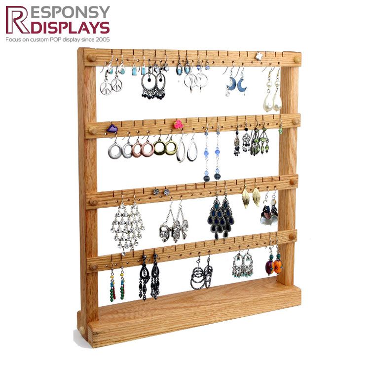 3 Tier Wooden Jewellery Display Stands