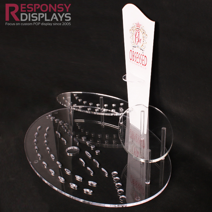 Multifunctional Used in Eye Shadow and Lipstick Acrylic Makeup Counter Display