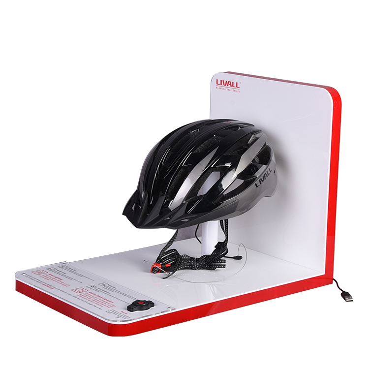 High-end Countertop Acrylic Helmet Display Stand Acrylic Factory Direct Supply